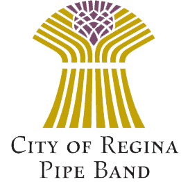 The City of Regina Pipe Band Logo