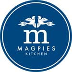 Magpies logo round simple